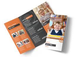 Tutor Flyer Templates Academic Tutor School Tri Fold Brochure Template