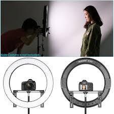 Studio Ring Light Uk Neewer Photo Studio Led Ring Light Lighting Kit 19 Inch