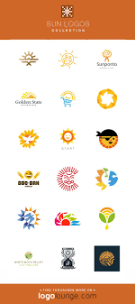 Light Beam Logo Logo Collection Sun Vector Logo Designs Light Shine