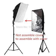 photography lighting kit 2m studio light stand tripod 50x70cm photo studio softbox light tent with