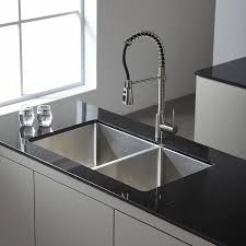 Kitchen  Undermount Kitchen Sinks New Kitchen Sink Double Bowl Best Stainless Kitchen Sinks