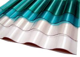 colored corrugated polycarbonate sheets plastic roof panel high light transmission