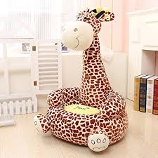 giraffe furniture. MAXYOYO Super Cute Plush Toy Bean Bag Chair Seat For Children,Cute Animal Soft Giraffe Furniture D