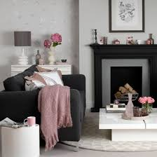 Enjoy Dramatic Design At Home By Decorating With Darker Colours. Black And  Grey SofaGrey Living ...