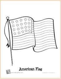 Small Picture American Flag Patriotic Free Printable Coloring Page