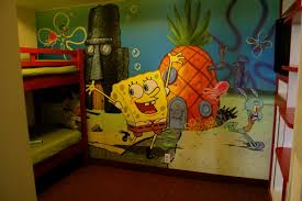 Spongebob Bedroom Decorations Similiar Spongebob Hotel Room Keywords