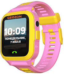 Детские <b>умные часы Geozon Active</b> Pink (G-W03PNK) - купить ...