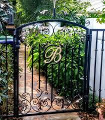 handmade iron garden gates tampa fl