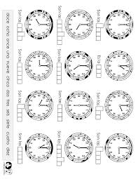 10 Best Images of Hora Spanish Worksheets - Spanish Telling Time ...