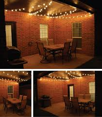 covered patio lights. 1000+ Ideas About Porch String Lights On Pinterest | Metal For Back Pertaining To House Covered Patio