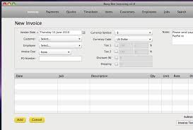 Computer Invoice Software Busy Bee Invoicing Accounting Software 30 Off For Mac Pc