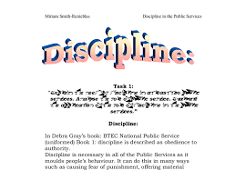discipline in school essay discipline in school
