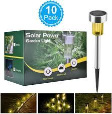 Evergreen Outdoor Landscape Lighting Amazon Com Basein Solar Garden Lights Solar Lights