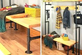 Pvc Pipe Coat Rack Amazing Diy Clothes Rack Pvc Pipe Coat Rack Pipe Build A Bench Coat Rack