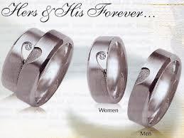 matching silver wedding bands. silver wedding bands, his \u0026 hers matching. matching bands t