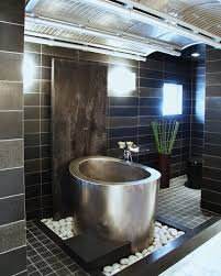 Elliptical Stainless Steel Japanese Bath 40