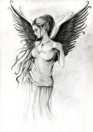 Angel By Anna Marine Anděl Tetování Nápady Na Tetování A Anděl