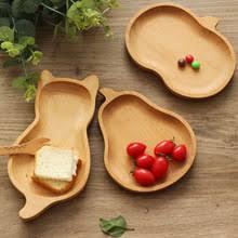 Экологичное <b>блюдо для закусок</b> круглый деревянный для торта ...