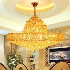 round gold chandelier led modern golden crystal chandelier big round gold crystal chandeliers lights fixture hotel club crystal brushed gold dining room