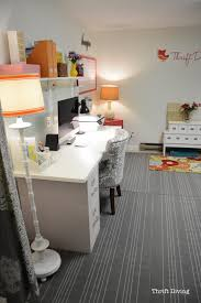 home office whiteboard. thriftybasementandhomeofficemakeoverthriftdiving home office whiteboard