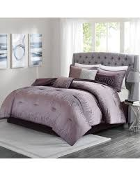 madison park bedding. Beautiful Bedding Madison Park 7piece Modern Lights Comforter Set Purple Intended Bedding A