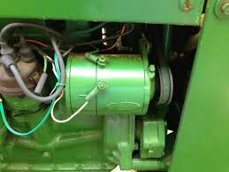 john deere mt generator question yesterday s tractors recently acquired a 1952 mt i m not much of an electrician so i m on a learning curve the previous owner installed a new 12v battery but i suspect i