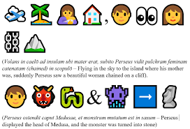 Toda Lly Comprehensible Latin Find The Sentence Using Emojis