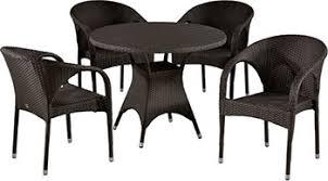<b>Комплект мебели Афина T</b> 190 AD/Y 290 B-W 52 Brown 4Pcs ...