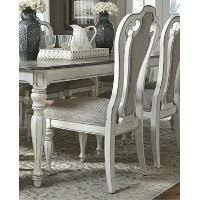 antique white upholstered dining chair magnolia manor3 white upholstered dining chairs r72