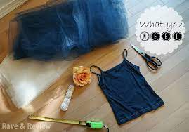 diy no sew tutu flower girl dress