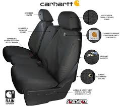 carhartt seat covers duck weave seat