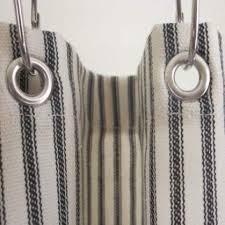 interior ticking stripe shower curtain black brown grey navy red 72x72 or interesting newest 1