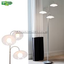 Staande Lamp Led Design Monarch Staal