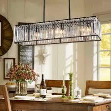 rectangular dining room chandelier. Crystal Chandelier Black Bronze Hanglamp Modern With Dining Room Chandeliers Linear Rectangular Category L