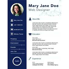 Cv Template Doc Free Marketer Resume In Word Format Templates