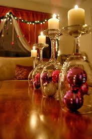 christmas-table-centerpiece-wine-glasses-candle-stand-pink-