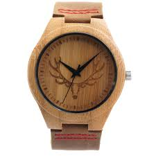 bobobird rt0459 mens deer head design buck bamboo wooden watches desc desc