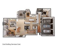 Cad Design Cost Cad Drafting Services Cost Interior Rendering 3d