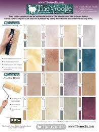 HOW TO FAUX FINISH PAINT. COLOR COMBINATIONS BY