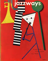rand s cover for jazzways magazine note the shadows that give the simple position an ening depth
