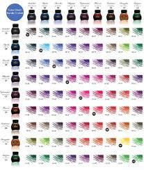 Ink Mixing Writers Bloc Blog