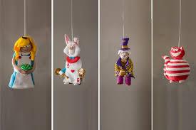 Weihnachtsschmuck Christbaumschmuck Christbaumkugeln Weihnachten Ornamente Clay Alice Im Wunderland Schmuck