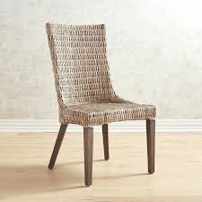 black wicker dining chairs. Wicker Dining Chair Gray Pier 1 Imports Black Indoor Chairs .