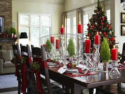 Interior Dining Room Table Christmas Decoration Ideas Christmas Inspiration Dining Room Table Decorating