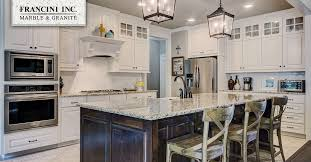 white cabinets blend with any color countertop