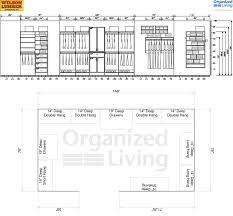 closet design dimensions. Arrangement Standard Depth Of Walk In Closet Design Dimensions A