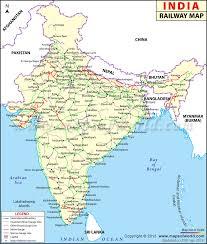 indian railways map india rail map