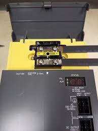 fanuc alarms fanuc repairs 2 screws bad fanuc alpha power supply