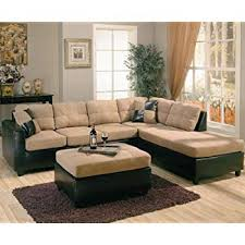 l shaped furniture. Wonderful Furniture Harlow Right LShaped Two Tone Sectional Sofa By Coaster Furniture On L Shaped M