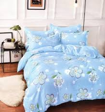 okko elegant double size quilt with 2 pillow cover sky blue gh 278 souq uae